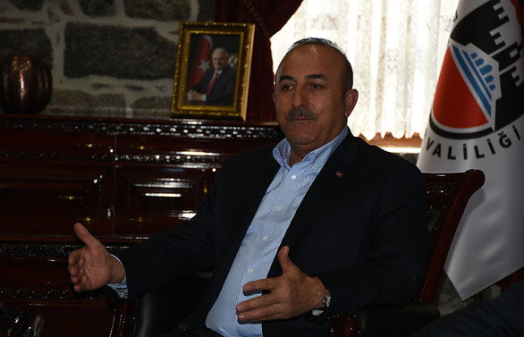 Çavuşoğlu'dan Trump'ın YPG talimatıyla ilgili açıklama