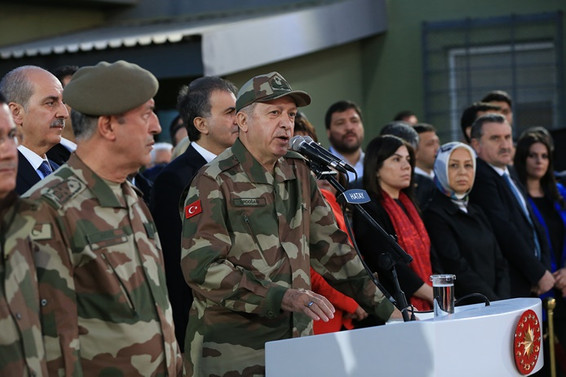 Erdoğan: 3 bin 852 terörist etkisiz hale getirildi