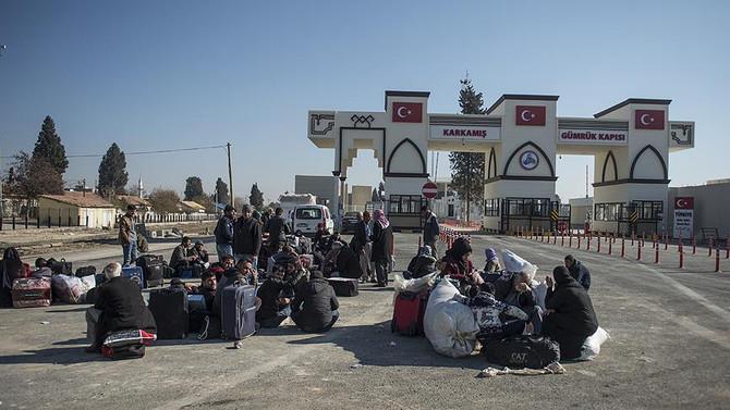 Fırat Kalkanı sonrası 59 bin Suriyeli topraklarına döndü