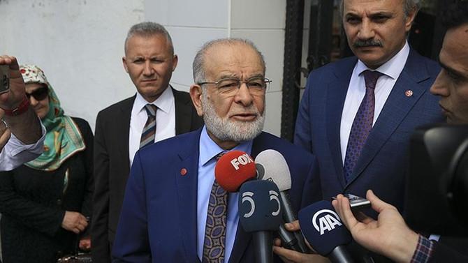 Karamollaoğlu'ndan İYİ Parti ve DP ile 'ittifak' açıklaması