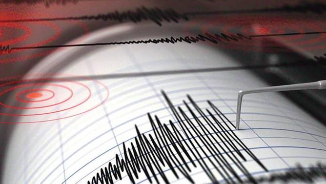 Ege Denizi'nde 4.8 şiddetinde deprem