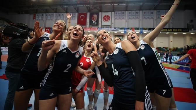 Olympiakos şampiyonluk kupasını aldı