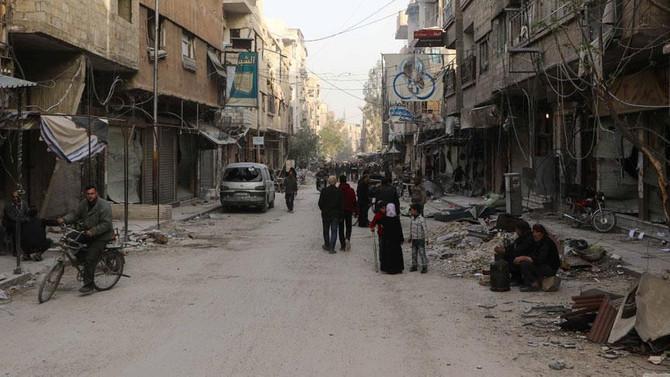 Suriye ordusu Doğu Guta'da kontrolü ele aldı