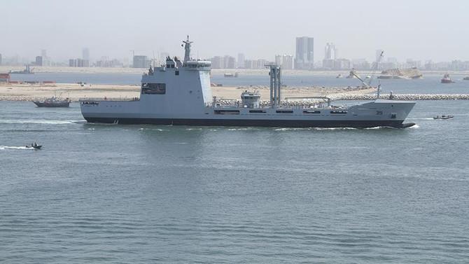 Savunmanın en büyük ihracatı denize açıldı