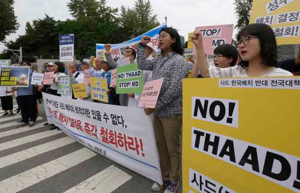 ABD üssü istemeyen Güney Koreliler polisle çatıştı