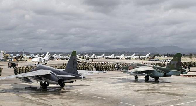 ABD keşif uçakları, Suriye'deki Rus üsleri yakınında uçtu