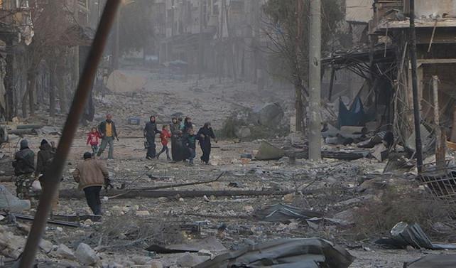 Halep'te İran üssünde patlama iddiası