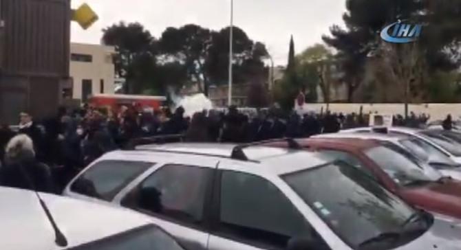 Fransa'da göstericilerle polis arasında çatışma: 51 gözaltı