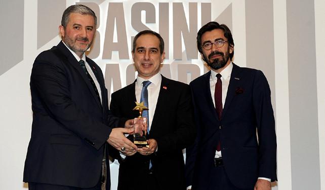 Dunya.com'a 'Yılın Dijital Ekonomi Yayını' ödülü