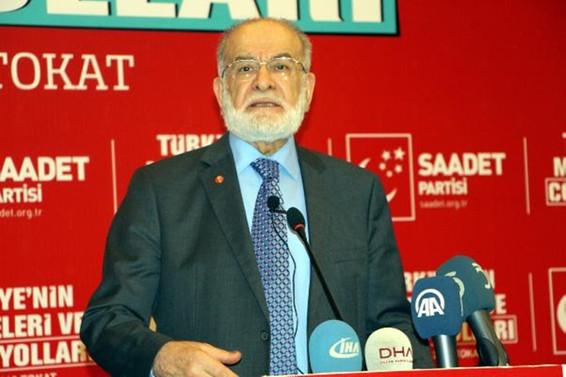 Karamollaoğlu: Erken seçim çaresizliklerinin bir ifadesi