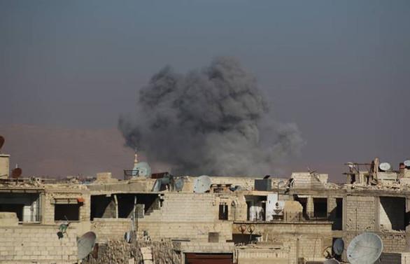 Irak savaş uçakları Suriye'de DEAŞ'ı vurdu