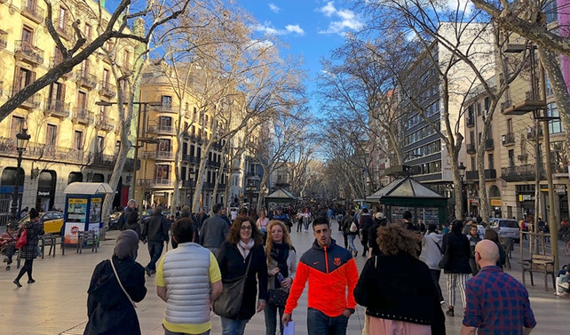 Akdeniz kültürü sevenler için Barselona