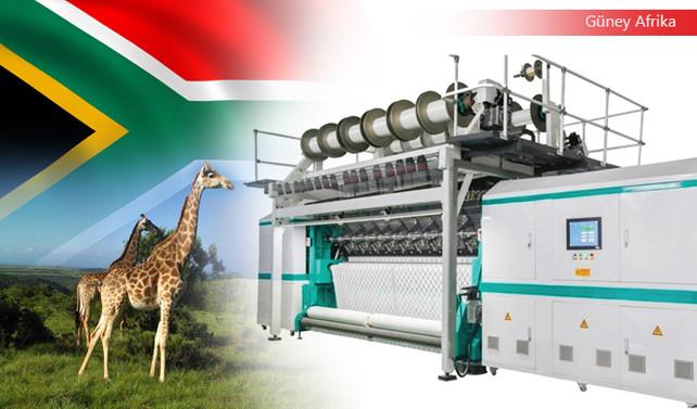 G.Afrikalı müşteri tekstil makineleri satın alacak