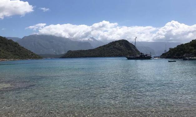 Fethiye'de dalış teknesi battı