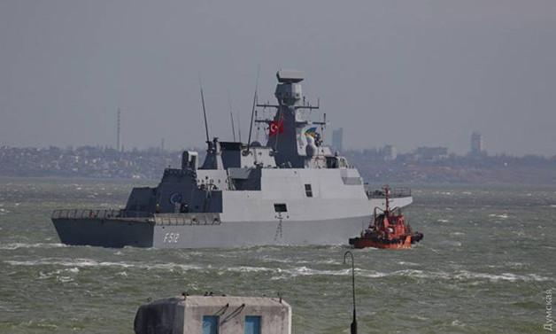 Türk savaş gemileri Bulgaristan'da