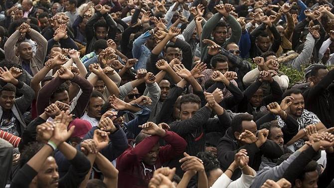 İsrail 16 bin 250 Afrikalı göçmeni sınır dışı edecek