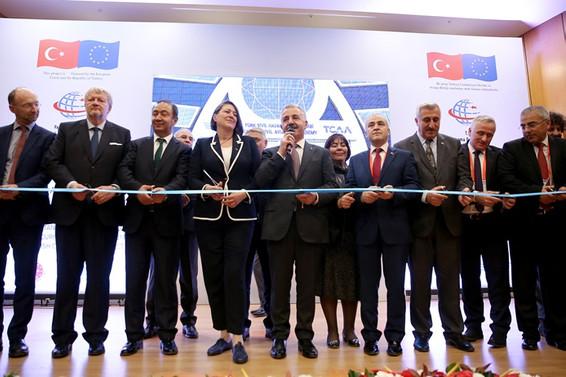 Türk Sivil Havacılık Akademisi açıldı