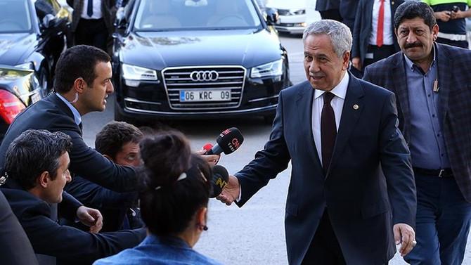 Erdoğan ile görüşmeden sonra Arınç'tan açıklama