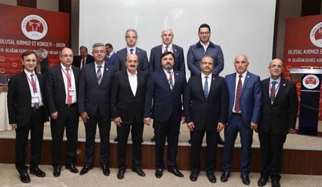 UKON başkanlığına yeniden Hacıince seçildi