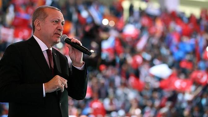 Erdoğan 24 Haziran'a kadar 55 miting yapacak