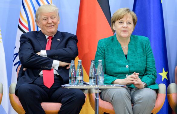 Beyaz Saray'da Merkel-Trump zirvesi