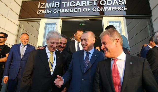 Erdoğan, İzmir'de iş dünyasına seslendi
