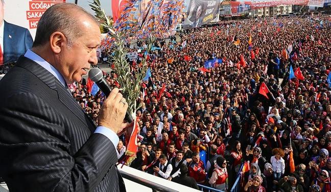 Erdoğan: Türkiye artık bir dönüm noktasına geldi