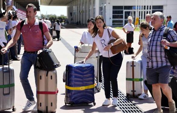 Antalya turist sayısında 1 milyonu aştı