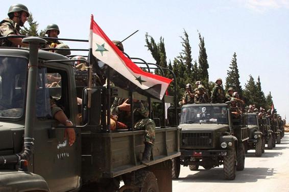 Suriye ordusu, Fırat'ın doğusunda YPG'nin elinden bazı köyleri geri aldı