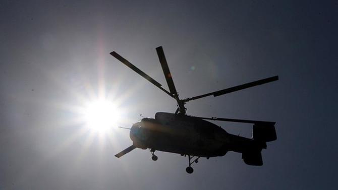 ABD'nin askeri helikopteri Meksika sınırında düştü