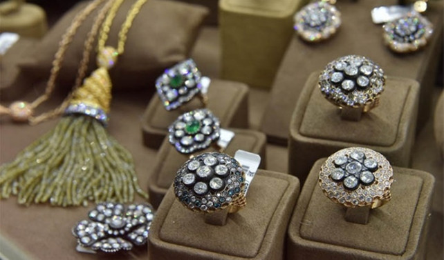 Mücevherde aylık ihracat rekoru