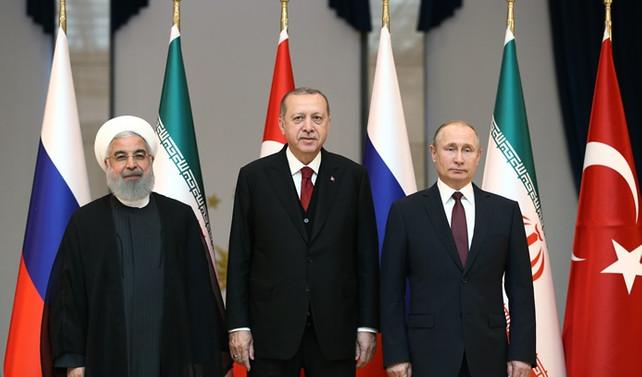 Türkiye, Rusya ve İran'dan ortak Suriye bildirisi