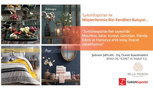 Turkishexporter.Net ile Müşterilerimiz Bizi Kendileri Buluyor