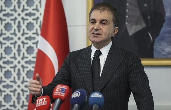 Çelik: Müttefiklerimizi YPG'li eğitirken görmek istemiyoruz