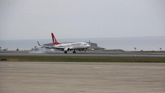 Trabzon Havalimanı'nda yolcu sayısı yüzde 13 arttı