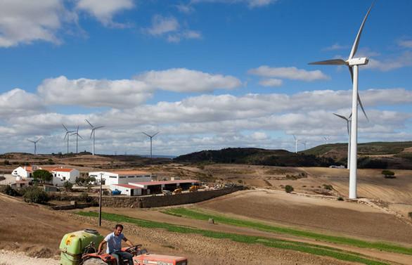 Portekiz'de yenilenebilir enerji üretimi, toplam tüketimi geçti