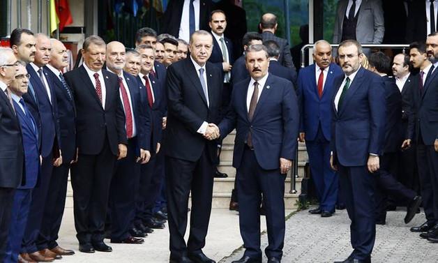 Erdoğan, Destici ile görüştü