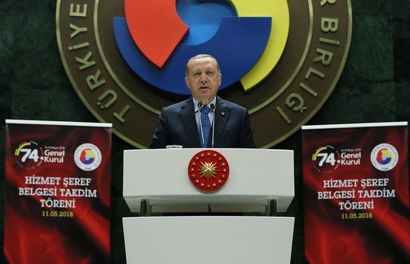 Erdoğan'dan 'faiz düşmeli' mesajı