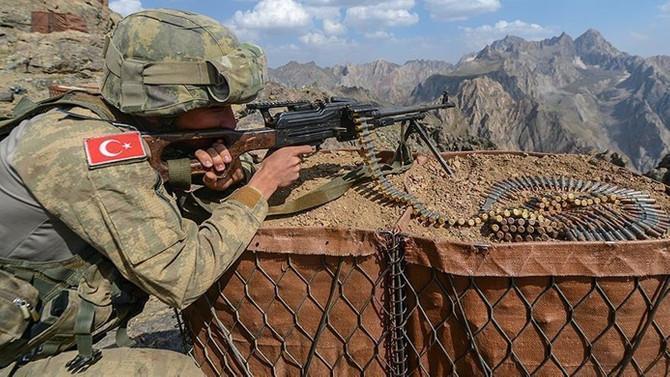 Şırnak'ta EYP infilak etti: 1 asker şehit