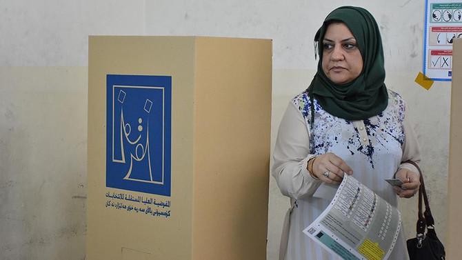 Iraklı 24 milyon seçmen sandık başında