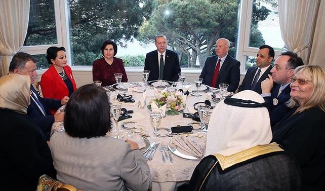 Erdoğan, Danıştay üyeleriyle bir araya geldi