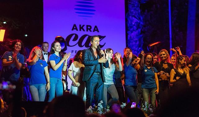 Antalya, Akra Caz Festivali'nde Dany Brillant ile eğlendi