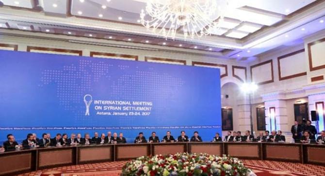 Suriye konulu 9. Astana toplantısı başladı