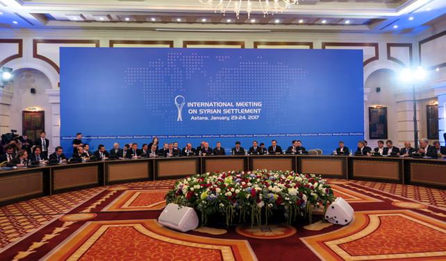 Suriye konulu 9. Astana toplantısı sona erdi
