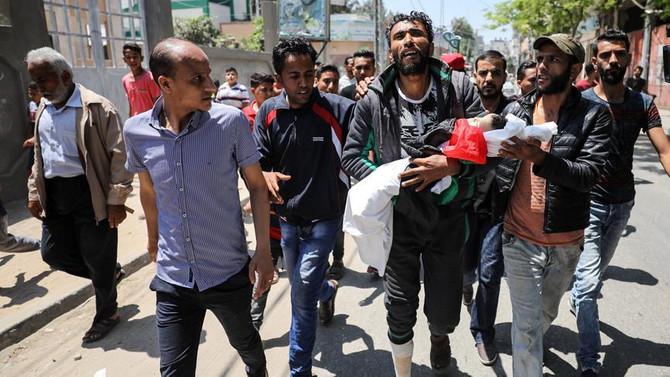 Filistin katliamının en küçük kurbanı