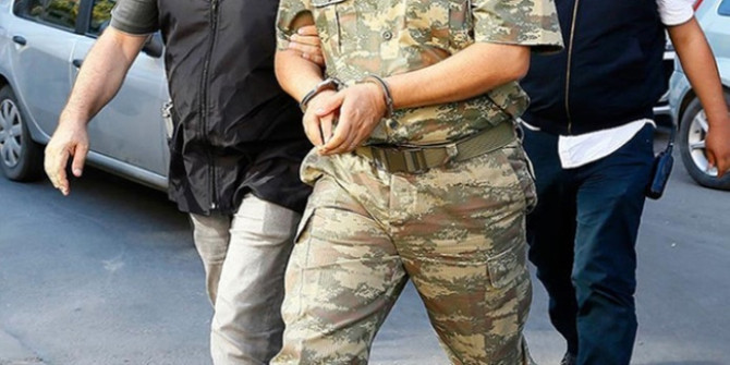 FETÖ'nün TSK yapılanmasına ilişkin soruşturmada 46 tutuklama