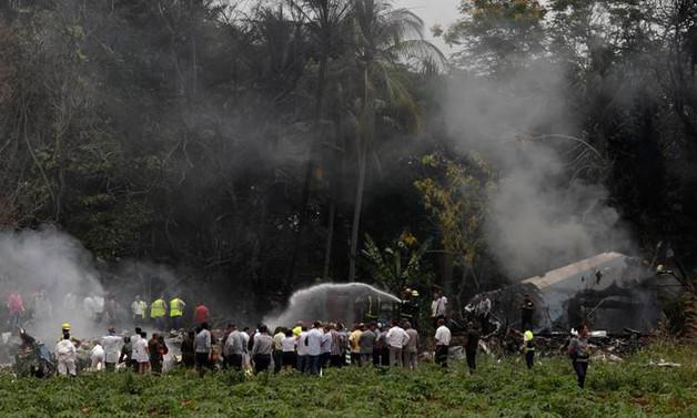 Küba'da yolcu uçağı düştü: 110 ölü