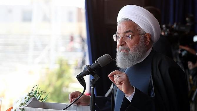 Ruhani: ABD ve İsrail'e karşı siyasi, ekonomik ve ticari önlemler alınmalı