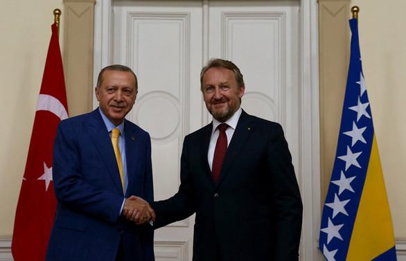 Cumhurbaşkanı Erdoğan Bosna Hersek'te