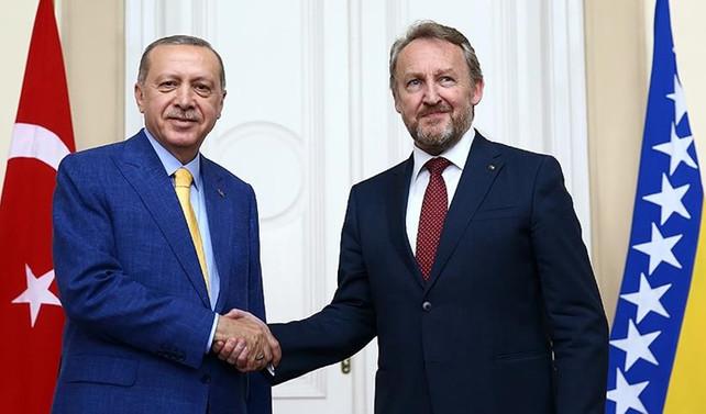 Erdoğan: Bosna Hersek ile kısa vadeli ticaret hedefimiz 1 milyar dolar